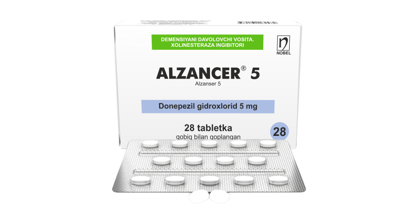 Alzanser® 5mg Tabletkalar №28