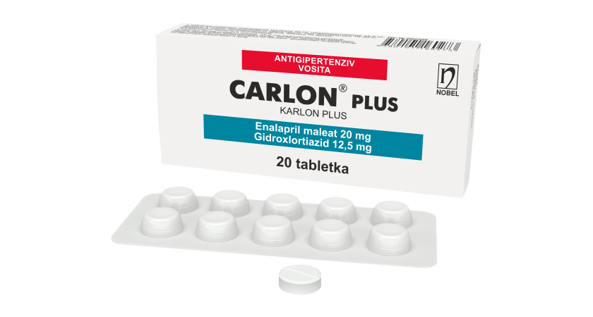 Carlon® Plus 20mg/12,5mg Tabletkalar №20