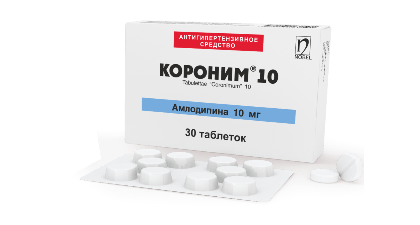 Coronim® 10mg Tabletkalar №30