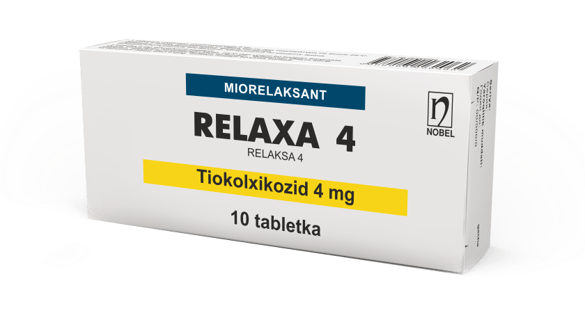 Relaxa 4mg Tabletkalar №10