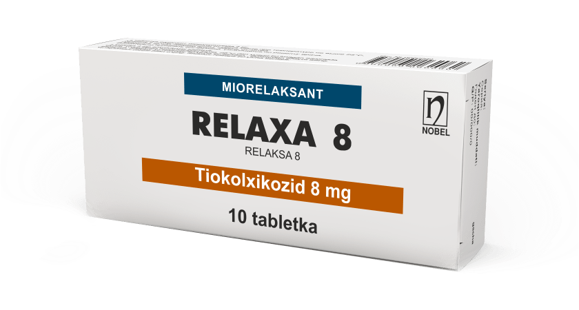 Relaxa 8mg Tabletkalar №10