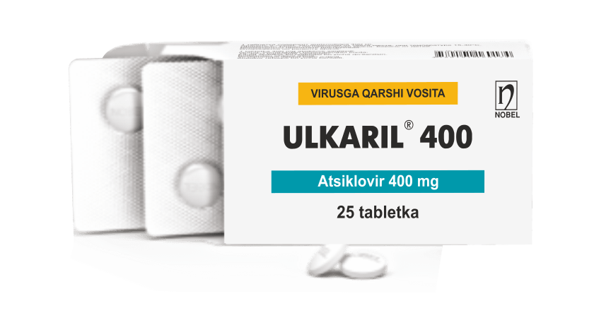 Ulkaril 400mg Tabletkalar №25
